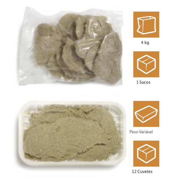 Panados de Frango 100g (cx 4kg)