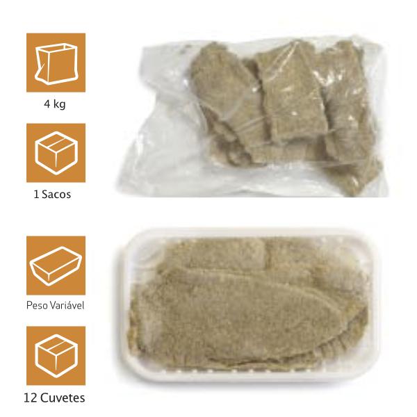 Panados de Porco 100g (cx 4kg)
