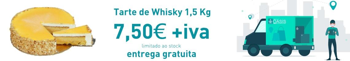 Sobremesa Tarte de Whisky