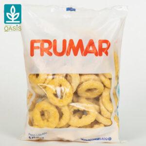 calamares (argolas) panadas cx 4kg emb. sacos 1 kg